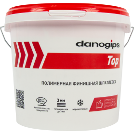 Шпаклевка готовая финишная Danogips Dano Top5 5 кг