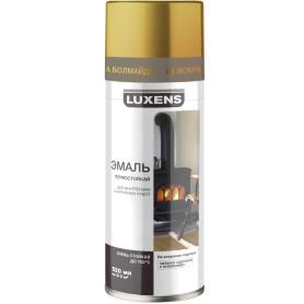 Эмаль термостойкая Luxens цвет золото 520 мл