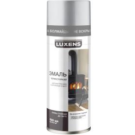Эмаль термостойкая Luxens цвет серебро 520 мл