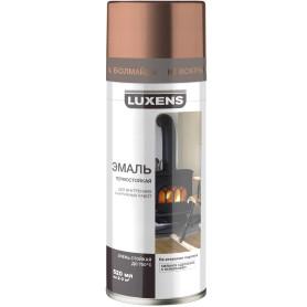 Эмаль термостойкая Luxens цвет медь 520 мл
