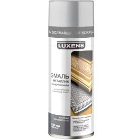 Эмаль металлик Luxens цвет серебро 520 мл