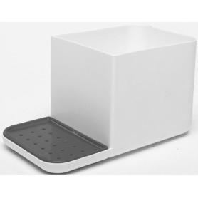 Органайзер кухонный для мойки, пластик, цвет белый