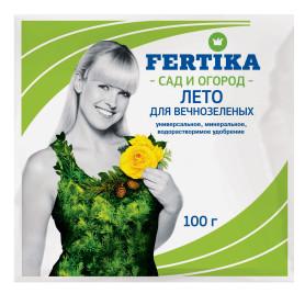 Удобрение водорастворимое Фертика для вечнозеленых 100 г