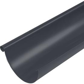 Желоб полукруглый 3000 мм Ø125 мм темно-серый