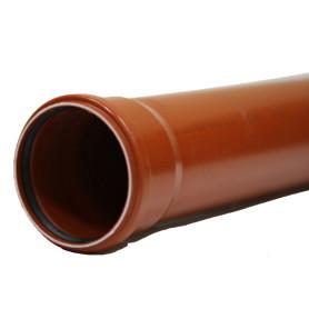 Труба раструбная наружная 110х1000 мм