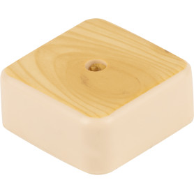 Коробка распределительная 50x50x20 мм цвет сосна, IP20