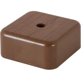Коробка распределительная 50x50x20 мм цвет дуб, IP20