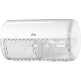 Диспенсер для туалетной бумаги Tork T4 в стандартных рулонах цвет белый