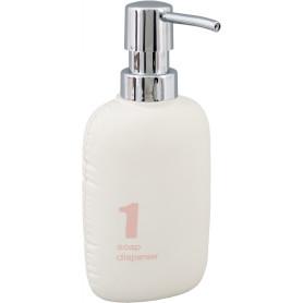 Дозатор для жидкого мыла Zepellin цвет белый/розовый