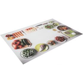 Салфетка-скатерть «Ясень», 60х90 см, ПВХ