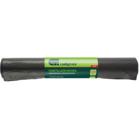 Мешки для мусора 220 л, цвет черный, 10 шт.