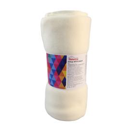 Плед «Рабат» 120x150 см флис цвет экрю
