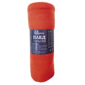 Плед «Bolero» 130х160 см флис цвет красный