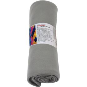 Плед «Bolero» 130x160 см флис цвет серый