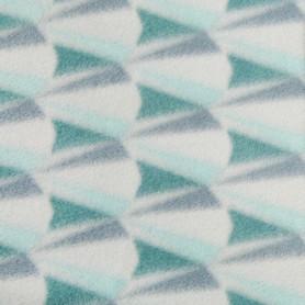 Плед «Роммани» 140x200 см флис цвет бирюзовый