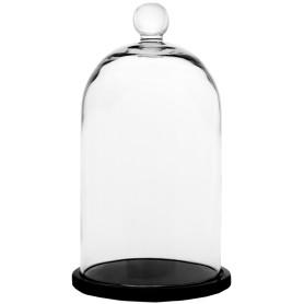 Колпак с подставкой «Родрик», стекло, 25 см