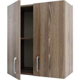 Шкаф навесной Delinia «Дуб Шато Аква» 60x68х29 см, ЛДСП, цвет коричневый