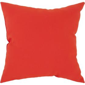 Подушка «Радуга» 40х40 см цвет красный