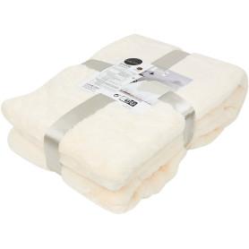 Плед Enalie Cream 5 200х220 см полиэстер цвет кремовый