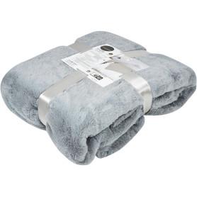 Плед Enalie Granit 3 200х220 см полиэстер цвет серый