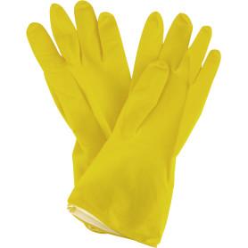 Перчатки латексные без хлопкового напыления Azur размер L