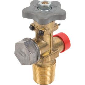 Вентиль ВБ-2 для газового баллона с предохранительным клапаном