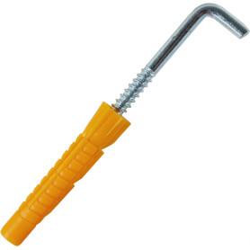 Дюбель-костыль универсальный, 12x71 мм, полипропилен, 2 шт.