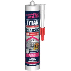 Клей монтажный Tytan Classic Fix, 280 мл, прозрачный