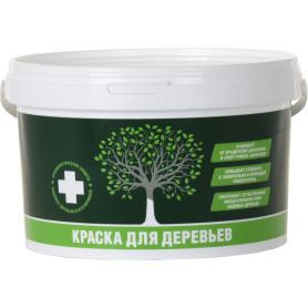 Краска для деревьев акриловая 2.7 кг цвет белый