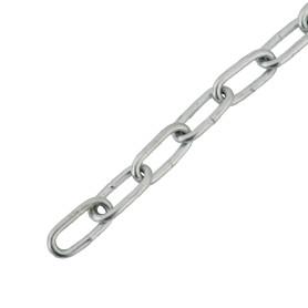 Цепь DIN 766 3 мм короткое звено 3 м сталь оцинкованная