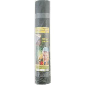 Спанбонд черный в рулоне 120 г/м2 25x0.8 м