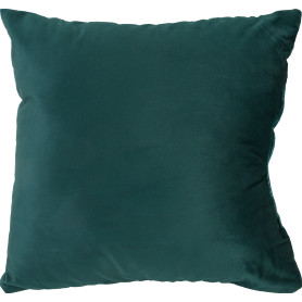 Подушка Rakaposhi 40x40 см цвет тёмно-зелёный
