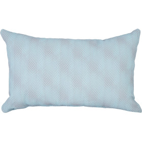 Подушка Kezhen 30x50 см цвет голубой