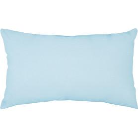 Подушка Porong 30x50 см цвет голубой