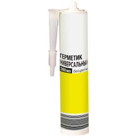 Герметик универсальный 260 мл, прозрачный