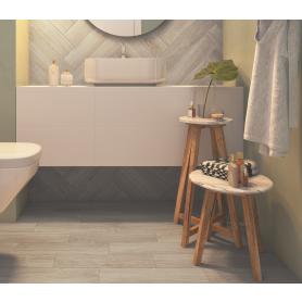 Керамогранит Storia 12.5x50 см 0.875 м² цвет серый