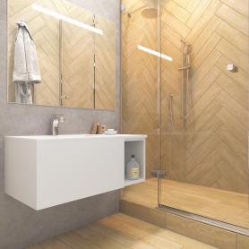 Керамогранит Serra 12.5x50 см 0.875 м² цвет коричневый