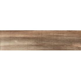 Керамогранит Albero 15x60 см 1.15 м² цвет коричневый