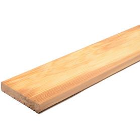 Террасная доска Лиственница Оптима 4000х142х27 мм Вельвет 0.57 м²
