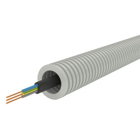 Кабель Партнер-Электро ВВГп-НГ(А)-LS 3х2.5, 50 м