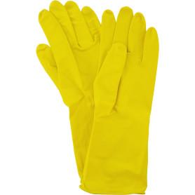 Перчатки латексные с хлопковым напылением York размер M