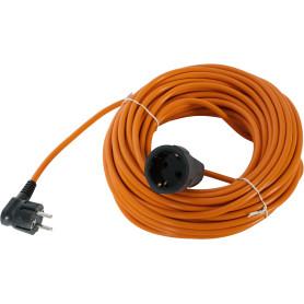 Удлинитель-шнур с заземлением 1 розетка 20 м 2200 Вт