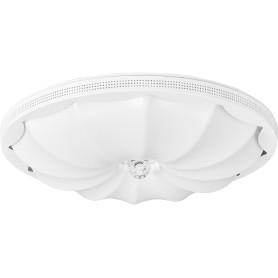 Люстра потолочная светодиодная 10231/S с пультом управления, 10 м², регулируемый белый свет, цвет белый