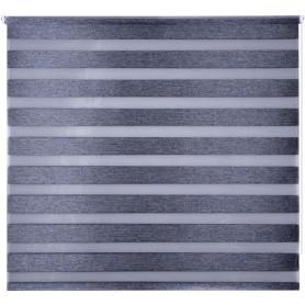 Штора рулонная день-ночь Miamoza Blackout 160x175 см, цвет серый
