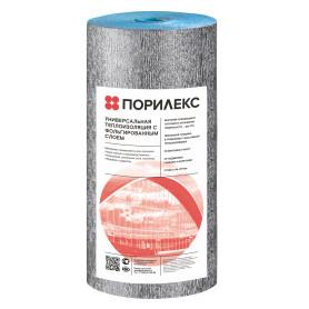 Изоляция Порилекс НПЭ ЛФ 10 мм фольга 15 м²