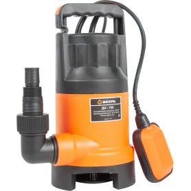 Насос погружной дренажный для грязной воды Вихрь ДН-750, 15300 л/час.