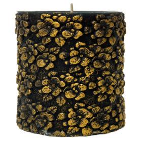 Свеча «Матиолла» большая, цвет чёрный
