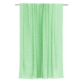 Тюль на ленте для кухни «Тиснение» 140x180 см цвет зелёный