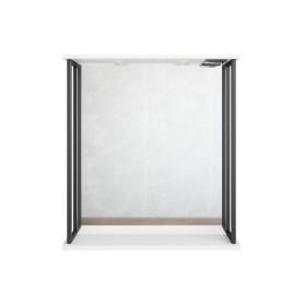 Зеркало «Борн» 70x80 см цвет белый