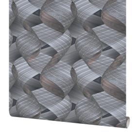 Обои флизелиновые Erismann Fusion серые 1.06 м 60080-07